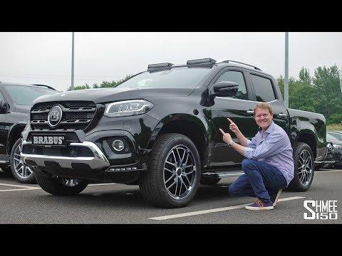 Can Brabus Make the X-Class a Proper Mercedes?