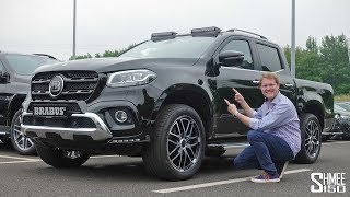 Let's explore the Brabus X250d! The X-Class is an unusual car for M...