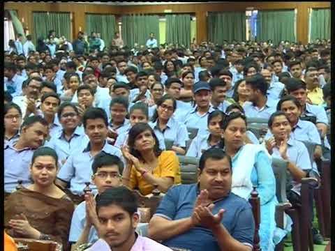 DR VIKRAM SINGH   CAREERS DAY @ CMS