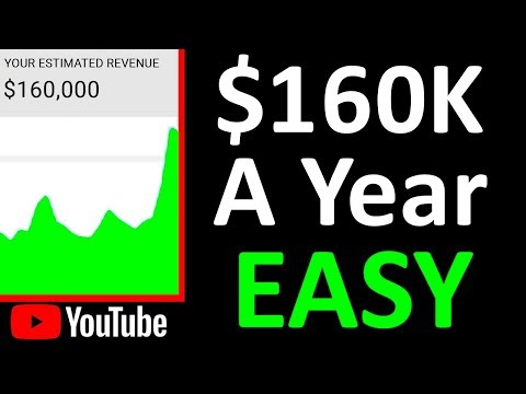 How to Make Money on YouTube Without Making Videos ($160K a Year)