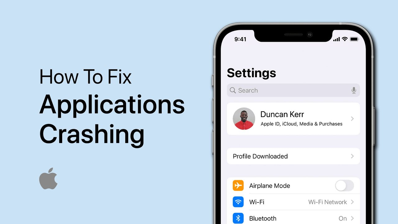 Ios 14 Apps Crashing Fix Youtube