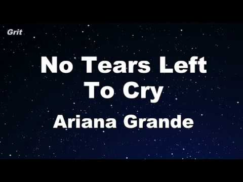 No Tears Left To Cry - Ariana Grande Karaoke 【No Guide Melody】 Instrumental