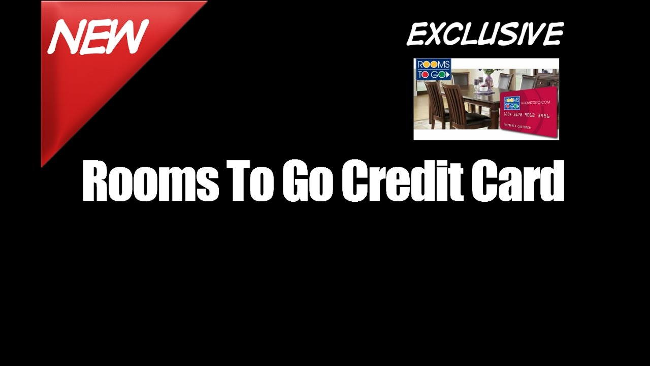 Rooms To Go Credit Card Pay Furniture Store Bill - YouTube