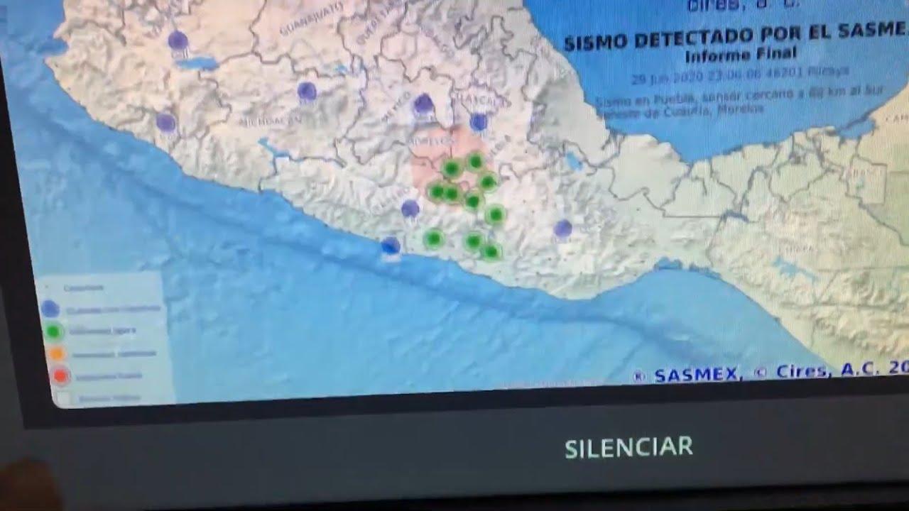 Sismo M4.7 en Tlapa, Guerrero 29/06/2020 23:05:53 (Muy débil)