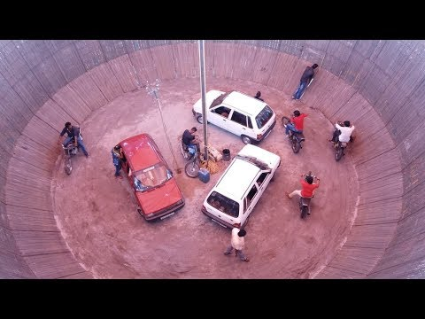 Maruthi Car and Motor Cycle (Bike) Circus/Stunts..