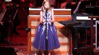 Jackie Evancho:  Ombra Mai Fu at her 2011 Summer Concert Tour in Atlanta.