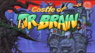 Castle of Dr. Brain (PC/DOS) 1991, Sierra, (PART-1) MT-32, SB