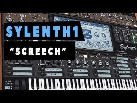 """SYLENTH1 - """"Sound Design""""- Cómo hacer 1 Screech - Tutorial"""