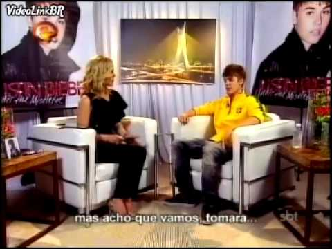 Justin Bieber's full interview to 'Programa da Eliana' [brazilian tv]