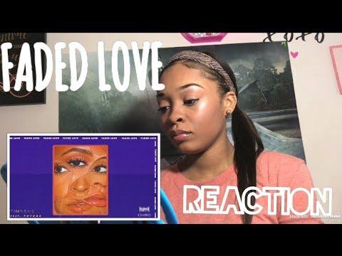 TINASHE - FADED LOVE (AUDIO) FT. FUTURE   REACTION