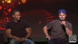A promise is a promise... Stephen Amell talks American Ninja Warrior