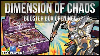 Yu-Gi-Oh Dimension of Chaos Box Opening! SCARRED FOR LIFE!!