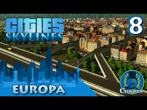Cities Skylines - Europa - Nueva Autopista #8 en español