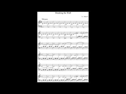 Doctor Who OST - Breaking the Wall - Piano Solo + Sheet Music