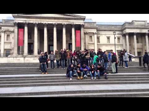 Harlem and Shake in London with France Friends :)