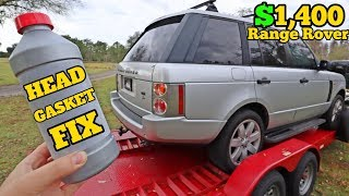 """Can a $25 Bottle of """"HEAD GASKET SEAL"""" Fix my $1,400 Range Rover's Engine Damage?"""