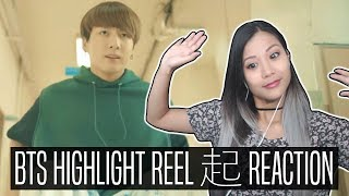 BTS Highlight Reel 起 #1 REACTION [LOVE YOURSELF]