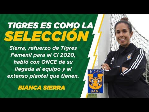 Tigres Femenil   Exclusiva. Bianca Sierra se siente como en la Selección con Tigres   ONCE Diario