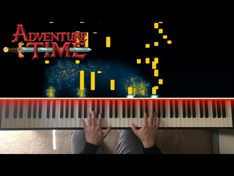 Adventure Time Theme Song On Piano