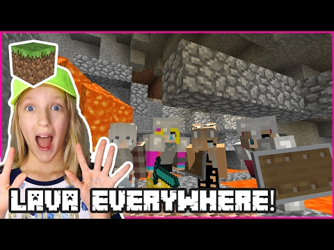 Lava is Everywhere! / Minecraft Realm