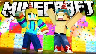 CRAZY PARTY MINIGAMES! | Minecraft Party