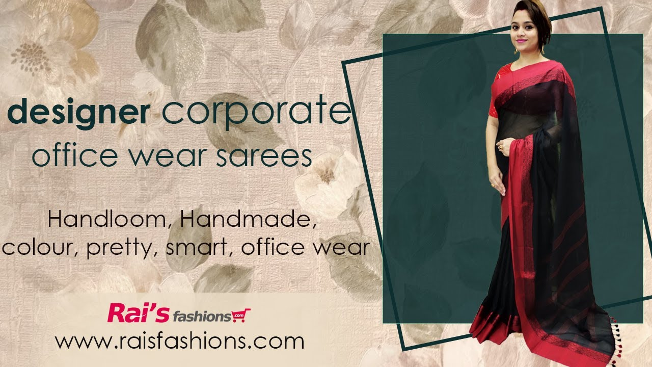 Designer Corporate Office Wear Sarees || Everything Below 2000/- Price (12th July) - 11JN