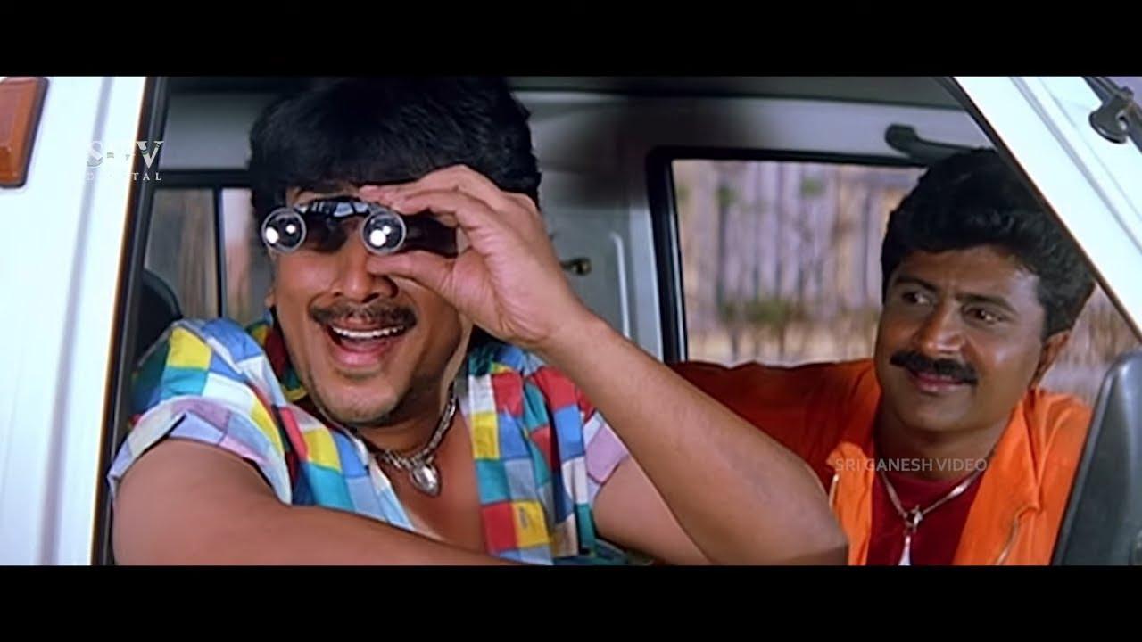 Kumar Govinda Planning to Kidnap Prema | Comedy Scene | Maya Bazar Kannada