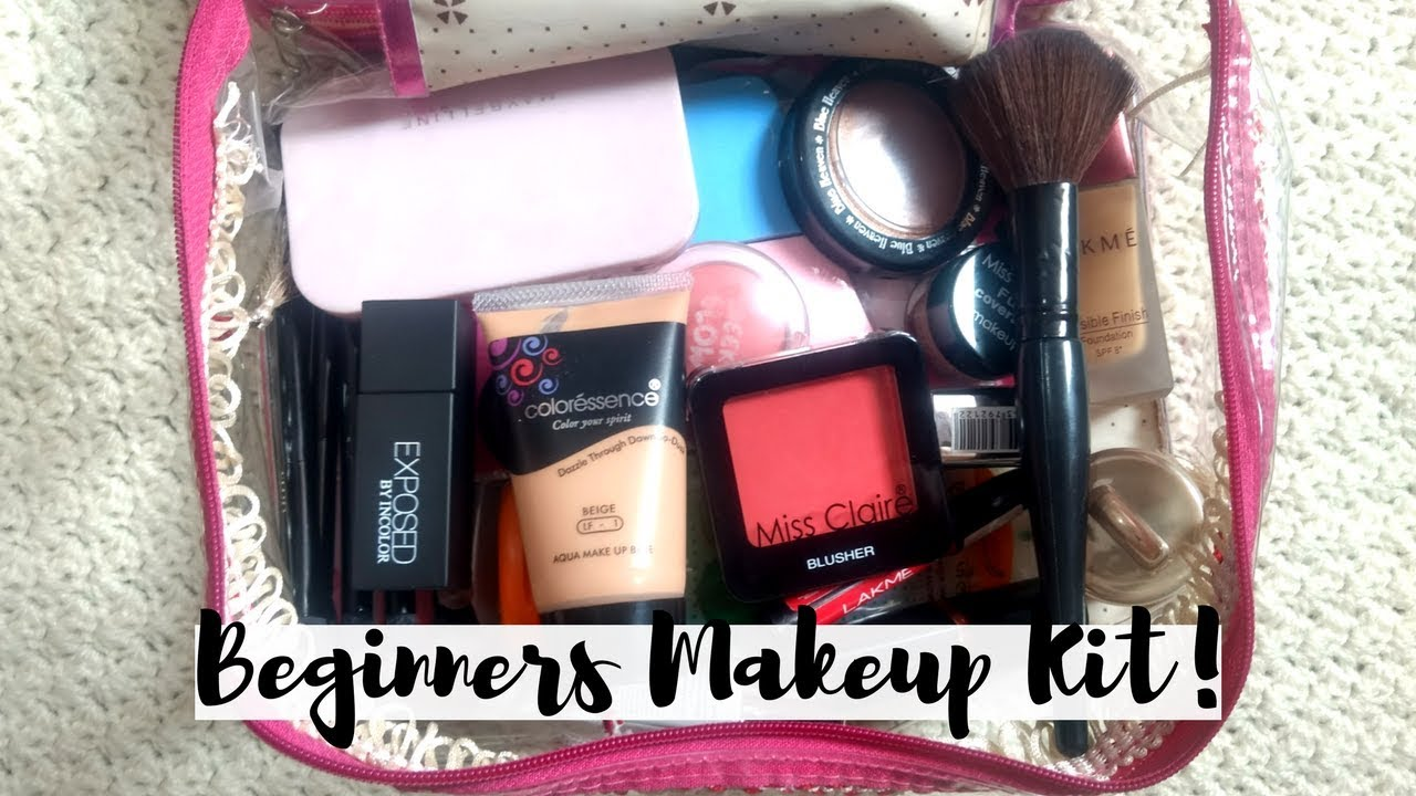 COMPLETE BEGINNERS MAKEUP KIT Under Rs. 250