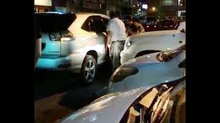 Video of man smashing window of Toyota Harrier blocking his car goes viral