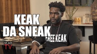 Keak Da Sneak on Getting Beaten After Running from Police, 4 Felony Charges (Part 3)