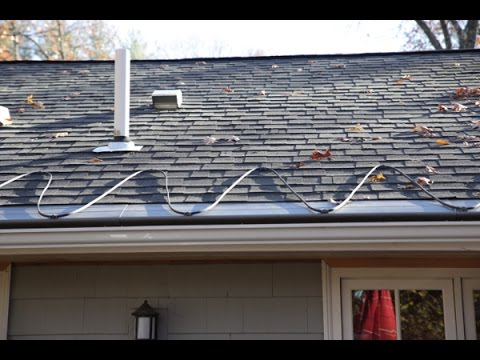 Warmup Roof And Gutter Deicing System Youtube