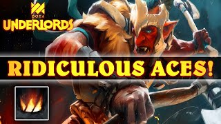 These ACE Effects Are RIDICULOUSLY POWERFUL! | Dota Underlords