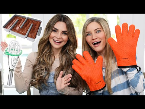 Trying Weird Amazon Baking Gadgets!