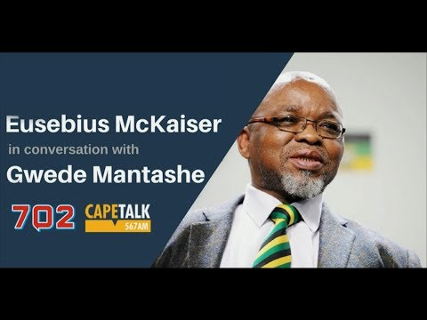 Gwede Mantashe gets grilled by Eusebius McKaiser
