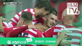 DVTK - MTK Budapest | 3-2 (2-0) | OTP Bank Liga | 15. forduló | 2018/2019