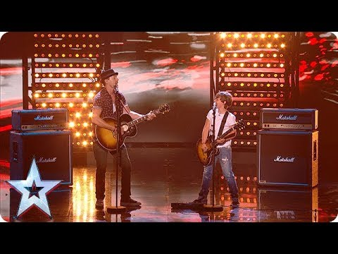Dream dad and son combo Jack and Tim WOW everyone at the Semi's! | Semi-Finals | BGT 2018