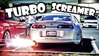 External Turbo Wastegate & Screamer Pipe Compilation