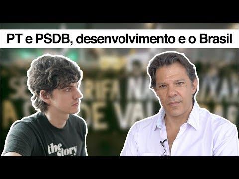 PT e PSDB, desenvolvimento e o Brasil (com Fernando Haddad)