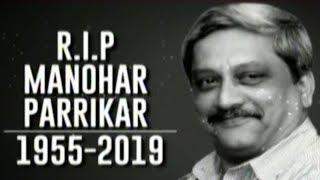 Goa Chief Minister Manohar Parrikar Passes Away At 63   Breaking thumbnail