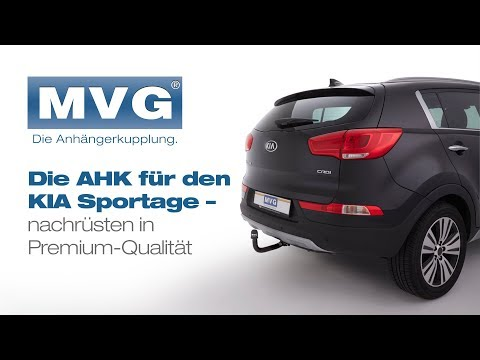 schwenkbare anh ngerkupplung f r kia sportage sls im mvg. Black Bedroom Furniture Sets. Home Design Ideas