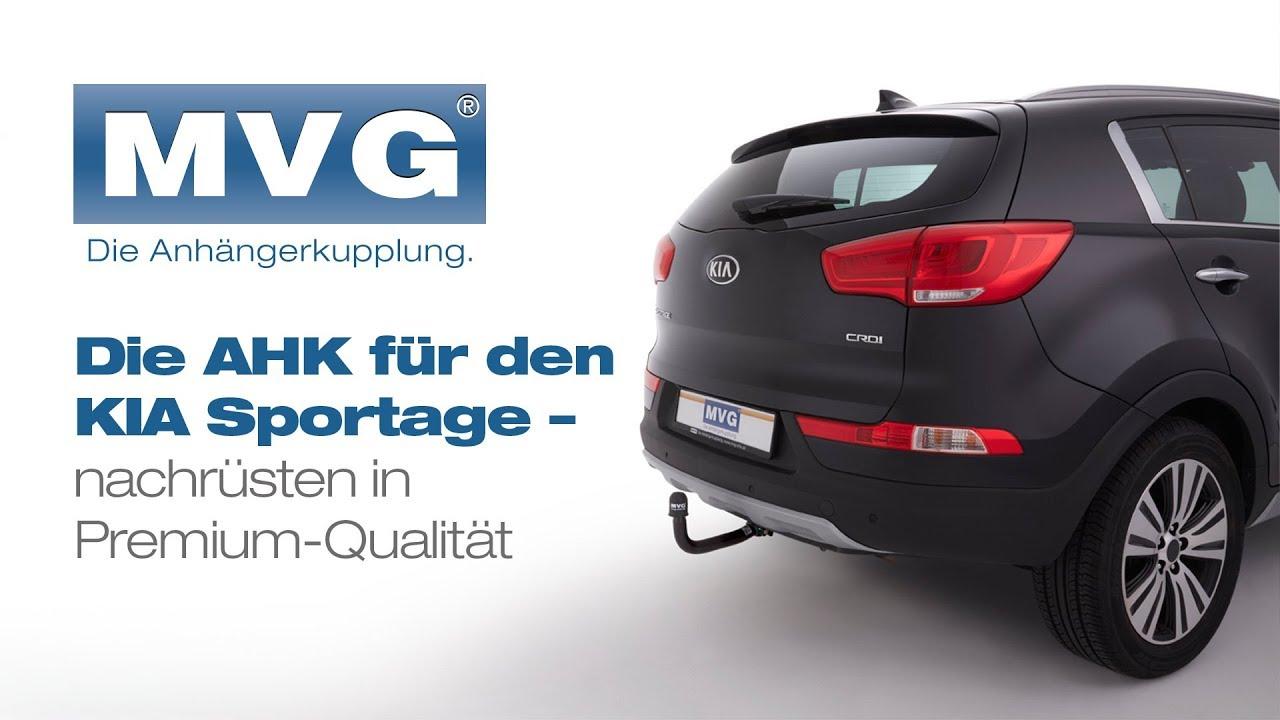 Schwenkbare Anhängerkupplung für Kia Sportage (SLS) im MVG-System ...