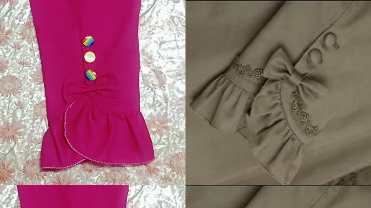 c2b6d908fd749 Sleeves design cutting and stitching. - YouTube