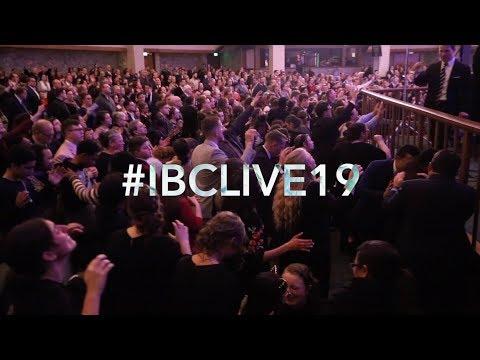 #IBCLIVE19