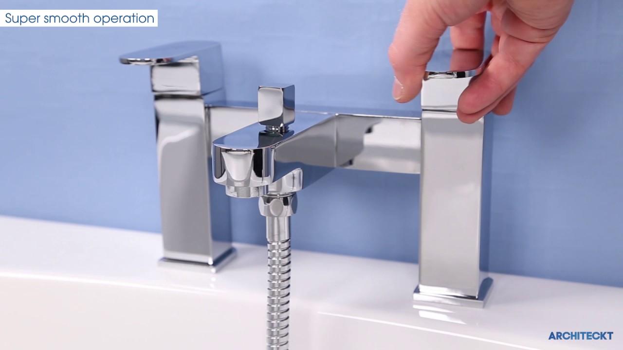 architeckt evedal bath shower mixer tap plumbworld youtube architeckt evedal bath shower mixer tap plumbworld