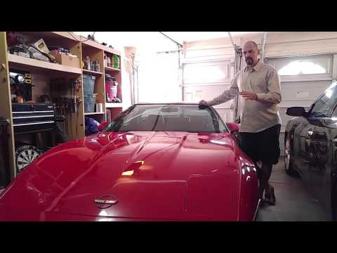 Buying and restoring the C4 Corvette