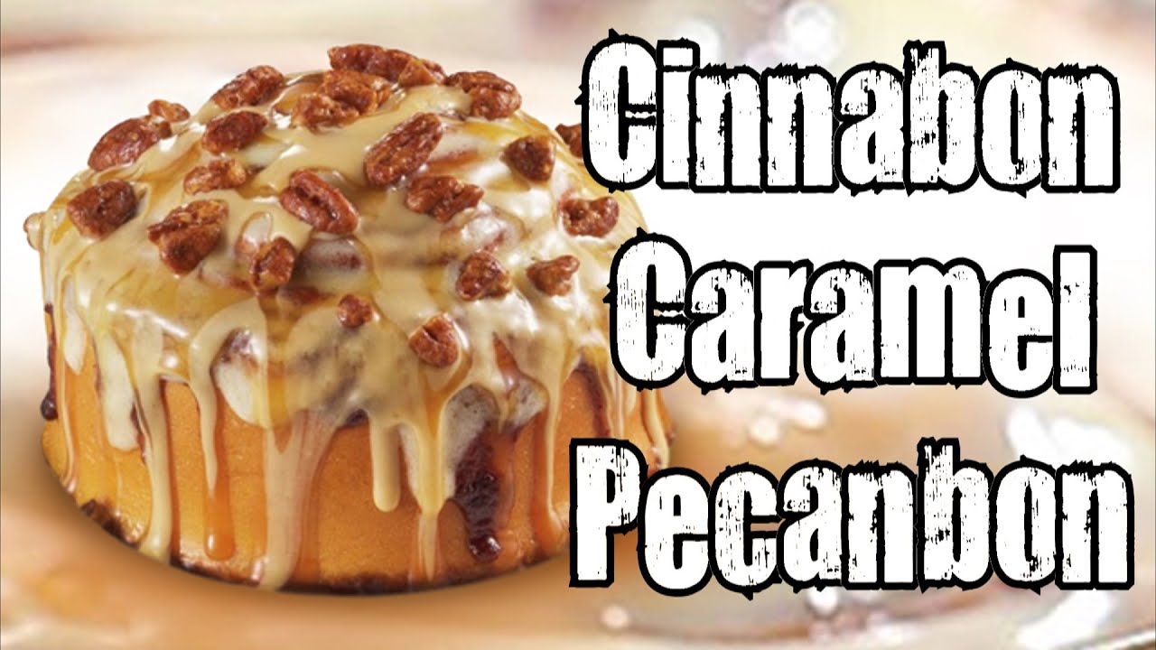 CarBS - Cinnabon Caramel Pecanbon - YouTube