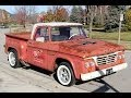 1964 Dodge D100 Hemi Cherry Bomb Test Drive Classic Muscle Car for Sale in MI Vanguard Motor Sales