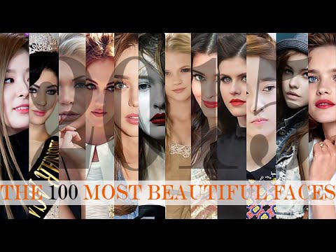 The 100 Most Beautiful Faces of 2015 official