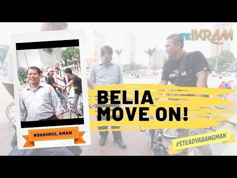 Belia... Move on! #steadyabangman