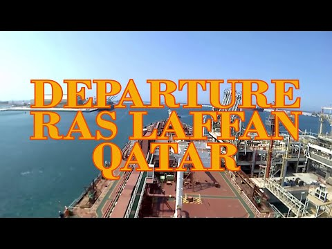 Ras Laffan Port (Qatar) Departure // Very Large Gas Carrier // LPGC //